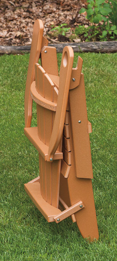 Folded Adirondack Chair